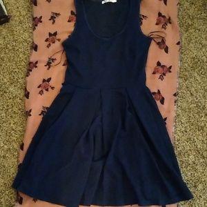 White Mark Navy blue dress 💙